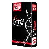 BZLEK 10Pcs/Box, Super Dotted Large Spike Cọn#Dọmṣ Thailand Natural Latex Rubber Cọn#Dọmṣ for Men P-Ê-Ň-Ï-S R-Ï-Ň-G Muscle Message Safe Sleeve, 4Box