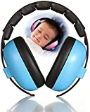 Baby Earmuff, 2020 New Soft Adjustable Baby Ear Protection Earmuffs Safety Noise Canceling Earmuff Baby Headphones Hearing Protection Headphones Noise Reduction for Sleeping Concerts Movie (Blue)