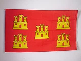 AZ FLAG Poitou-Charentes Flag 3' x 5' - French Region of Poitou-Charentes Flags 90 x 150 cm - Banner 3x5 ft