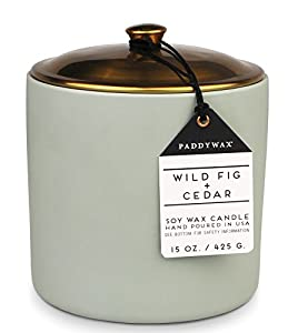 "WOODY FRAGRANCE: Notes of fig, cedar, and patchouli give this fragrance its woodiness KEEP COZY: ""Hygge"" (pronounced 'hooga') is the Danish word for coziness; capture a feeling of warmth when you're hosting an intimate dinner party or enjoying a nigh..."