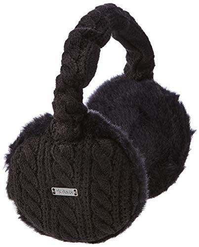 Barts Monique Earmuffs Cache-Oreilles, Noir (Schwarz), Fabricant: Taille Unique Femme