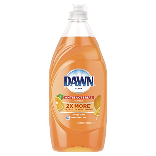 Dawn Ultra Antibacterial Hand Soap, Dishwashing Liquid Dish Soap, Orange Scent, 19.4 fl oz