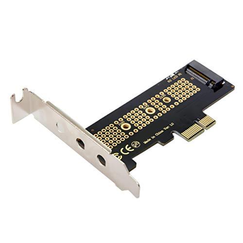 Low Profile PCI-E 3.0 x1 Lane auf M.2 NGFF M-Key SSD Nvme AHCI PCI Express Adapterkarte
