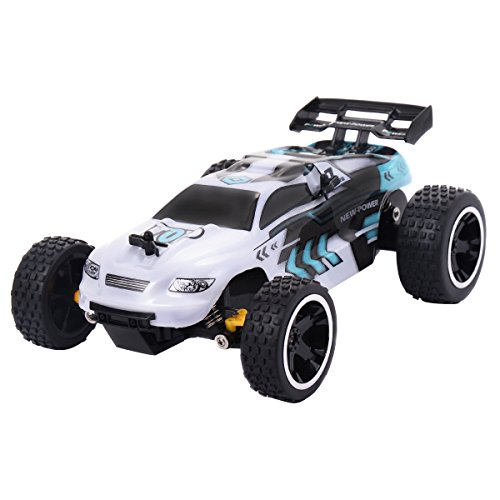 Costzon RC Car, 1:18 Scale 2.4G 4CH RC Racing Speed Car Radio Control Sport Toy Vehicle