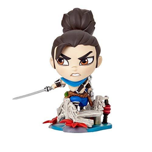 for League of Legends Spielfiguren, LOL Series Figuren/Yasuo Statue, vorzügliche und kühle Resin Model, Perfekt Kollektionen for Desktop-Platzierung oder Vitrinen
