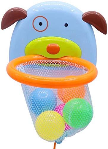 YYhkeby Zpong bebé for niños Juguetes for el baño Throw Canasta de Baloncesto de Disparo Juguetes de baño Ducha Agua Marina Agua Juguetes Juego Juguetes for niños 16X16X12Cm Jialele