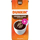 Dunkin' Original Blend Medium Roast Whole Bean Coffee, 12 Ounces (Pack of 6)