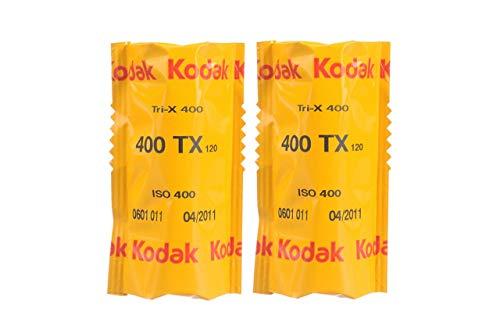 KODAK プロフェッショナル用 白黒フィルム トライ-X 400 120 2本パック