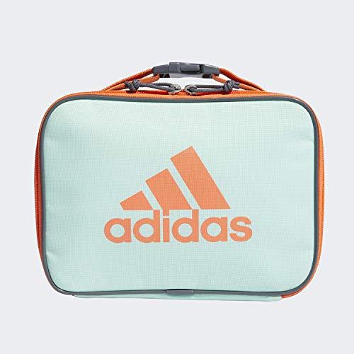 adidas Unisex-Erwachsene Foundation isolierte Lunchtasche, Unisex-Erwachsene, Tasche, Foundation Lunch Bag, Clear Mint / Hi Res Koralle / Onix, Einheitsgröße