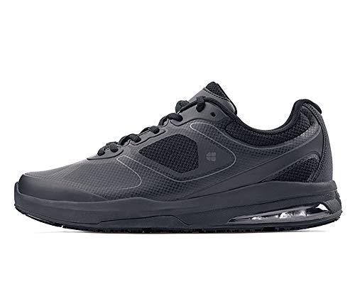 Shoes for Crews Men's Evolution II Slip Resistant Food Service Work Sneaker, Black, 11 Wide US