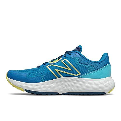 New Balance MEVOZV1 Zapatillas para Correr, Azul (Blue/Yellow), 41 1/3 EU