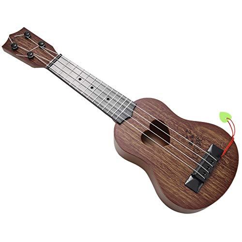 Gaetooely Musikinstrument Ukulele Kinder Gitarre Spielzeug Kreative Schule Spielen Spiel Farbe:Zufaellig