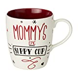 Enesco 6002631 Our Name is Mud Mommy's Epic Sippy Cup Oversized Coffee Mug, 28 Ounce, Multicolor