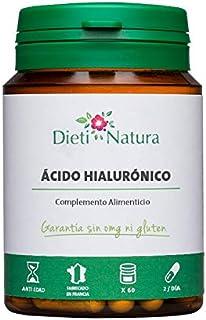 Ácido Hialurónico 60 Cápsulas