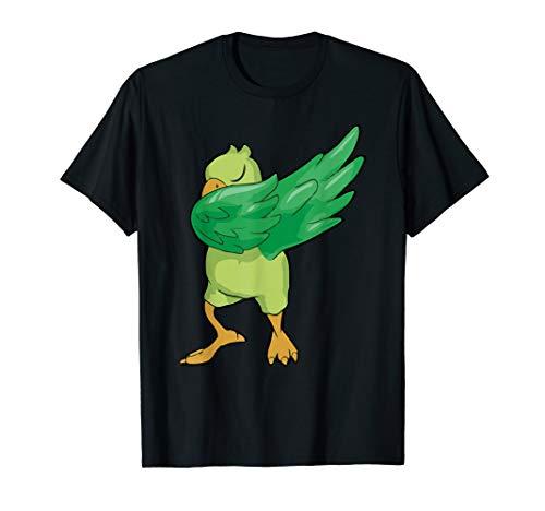 Dabbender Papagei - lustiges Tierlogo