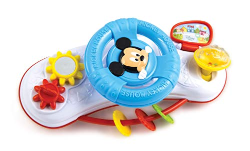 Disney 17213 Clementoni-17213-Disney Baby Mickey Kinderwagen Activitiy Center, Mehrfarbig