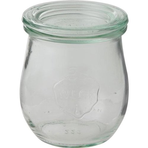 WECK Tulip Shape ガラスキャニスター 200ml WE-762