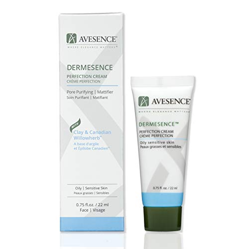 Dermesence Perfection Daily Face Moisturizer for Oily Acne-Prone Sensitive Skin | Matte Finish | Unclogs Pores | Non-Greasy Purifying With Kaolin Clay and Willowherb | Cruelty-Free