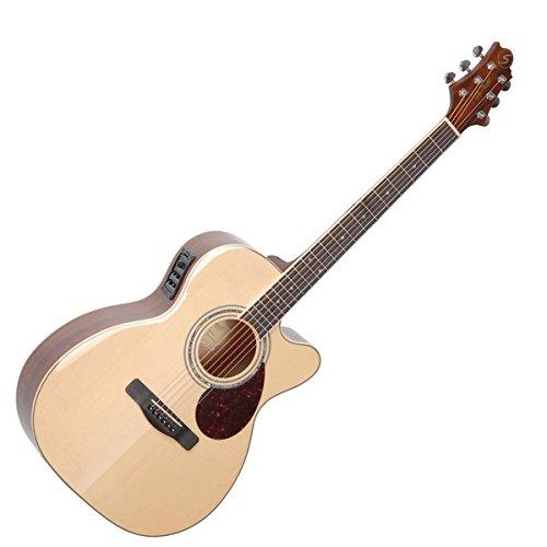 Samick Greg Bennett Design OM5CE Acoustic Guitar, Natural
