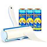 Lint Rollers for Pet Hair Extra Sticky: Super sticky, super easy! The adhesive sheets pick up pet hair instantly as you roll the tool over your furniture or clothes. Our lint hair roller won't harm the fabric or leave behind any trace of glue or lint...