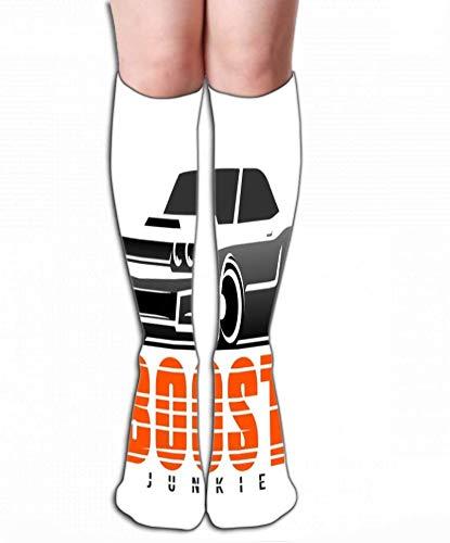 Haloxa Kompressionsstrümpfe Frauen Knie hoch oder Männer - Beste Strümpfe für Laufen, Medizin, 50 cm (19,7