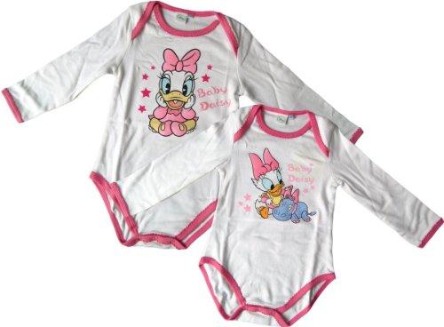Disney - Sous-vêtements - Lot de 2 bodys Daisy (sous boite cadeau) (12 mois)