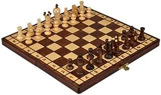Wegiel 木製チェスセット ロイヤル 35cm [並行輸入品]