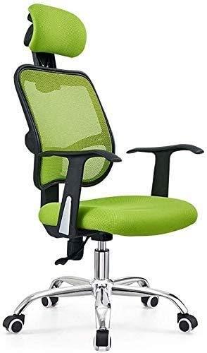 Elegante silla oficina, silla giratoria Silla de juego de masaje de belleza | Silla de escritorio ajustable de silla de computadora de juego para el hogar con giro y ruedas | Silla de escritorio ergon
