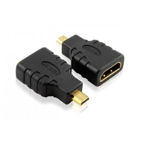 Keple Micro HDMI a HDMI Adapter   Tipo D ad alta velocità placcato in oro adattatore convertitore compatibile con Nikon COOLPIX: AW110 AW120 AW130 L620 L820 L830 L840 P330 P340 P600 P610 P900 S02 S32 S33 S5200 S5300 S6500 S6600 S6800 S6900 S7000 S810c S9400 S9500 S9600 S9700 S9900 Accessori fotocamera per collegare TV / HDTV / LCD / Plasma / Monitor   Supporta 3D, 4K, 1440p, 1080p Audio & Video
