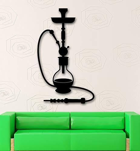 yaonuli Arabische Kultur Rauch Wandtattoos Wohnkultur Wohnzimmer Abziehbilder abnehmbar und wasserdicht 68X68cm
