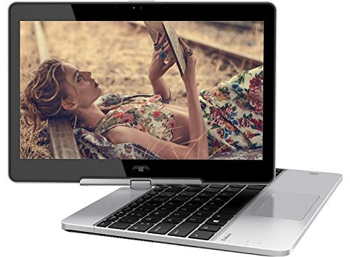 2018 HP EliteBook Revolve 810 G3 11.6 inches HD Touchscreen Convertible Tablet Laptop, Intel i5-5200U up to 2.70GHz, 8GB RAM, 128GB SSD, USB 3.0, 802.11ac, Windows 10 Professional (Renewed)