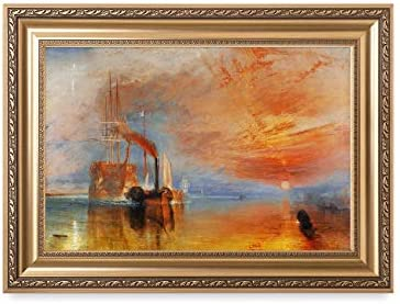 DECORARTS The Fighting Temeraire by William Turner Oil Painting Reproduction Giclee Print on product image