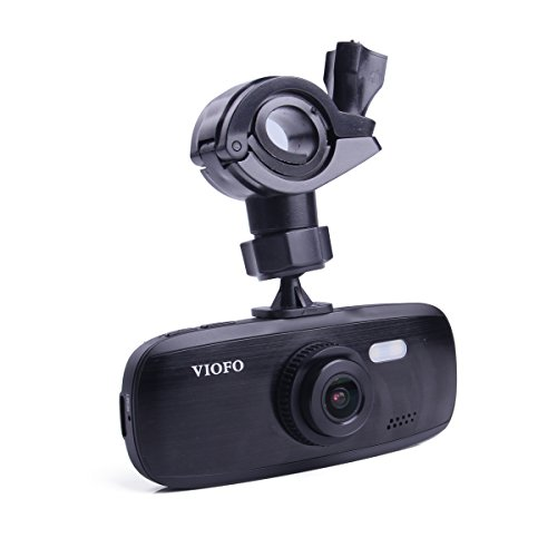 G1W-S Car Dash Camera | Full 1080P HD Video & Audio Recording Car DVR Camera Recorder | G-Sensor Capabilities | NT96650 + Sony IMX323 | New 2017 Model