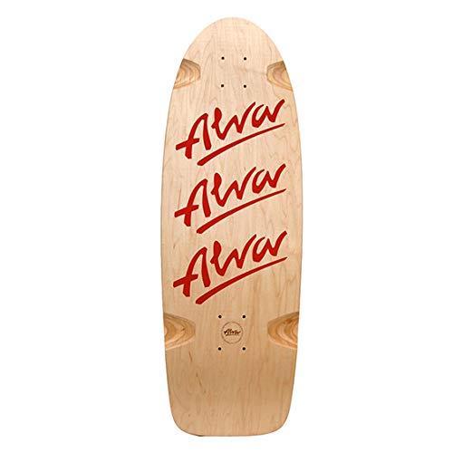 ALVA Tri Logo 79 Re-issue 25,4 x 76,2 cm, rot