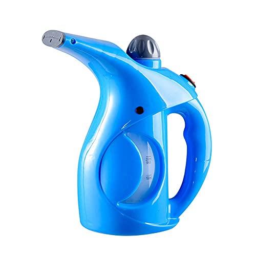 YLLYLL Cepillo de Vapor de la Prenda portátil de la Prenda de la Prenda de la Prenda de Vapor de la Mano para el Vestido de la Ropa de Planchado Planchando la Ropa (Color : Blue)