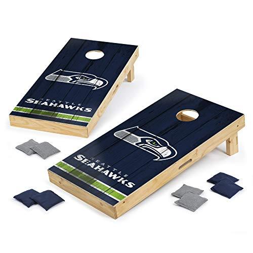 PROLINE NFL Seattle Seahawks 2'x4' Cornhole Board Set - Vintage Design
