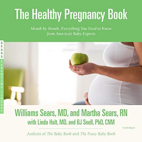 The Healthy Pregnancy Book audiobook cover art