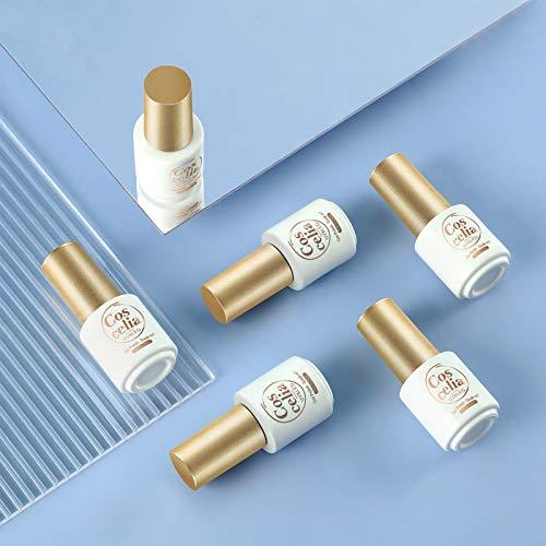 COSCELIA Kit Uñas Semipermanentes Esmaltes Semipermanentes con Cambia de Color de 4pcs Color Opcional...