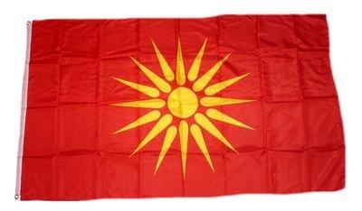 Fahne / Flagge Mazedonien alt NEU 90 x 150 cm