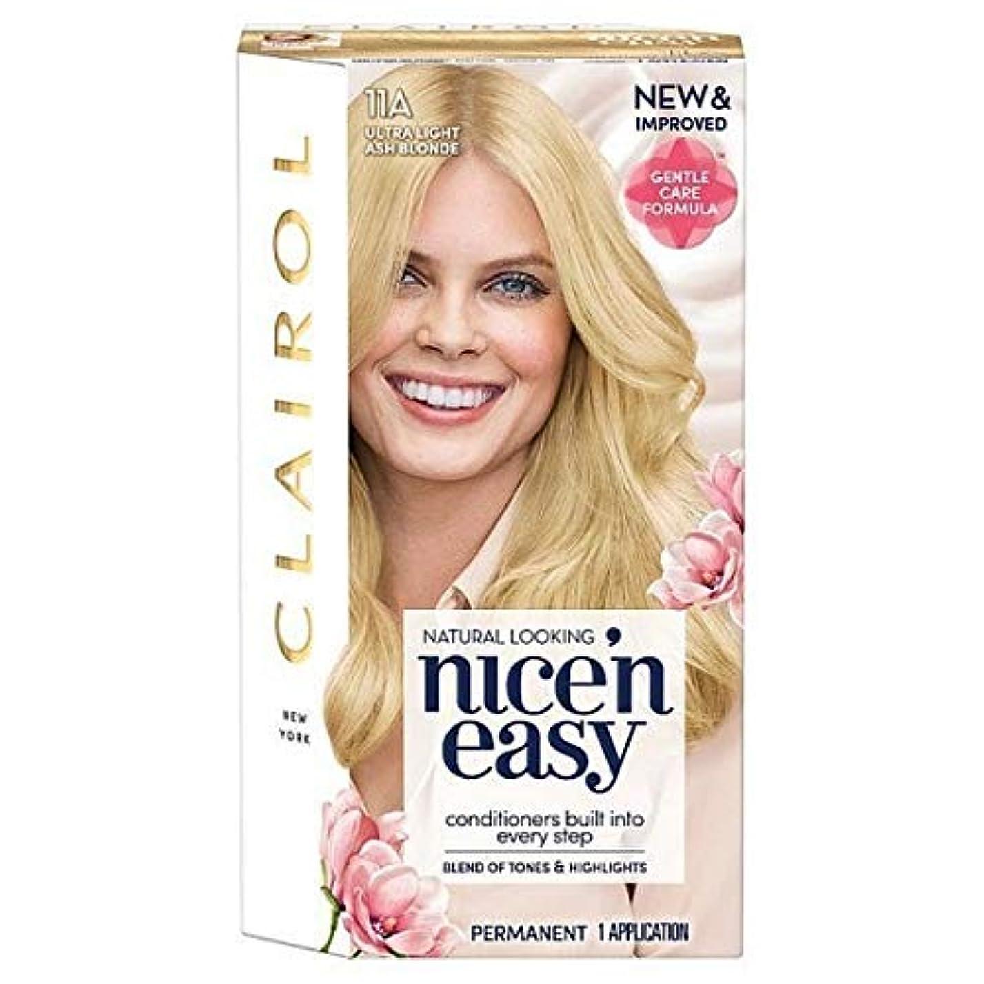 代表するキャンセル防ぐ[Nice'n Easy] 簡単11Aと超軽量のアッシュブロンドNice'N - Nice'n Easy 11A Ultra Light Ash Blonde [並行輸入品]