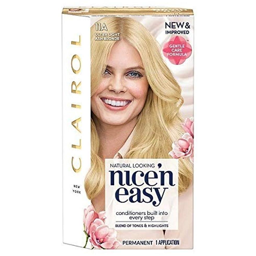 洋服変な銃[Nice'n Easy] 簡単11Aと超軽量のアッシュブロンドNice'N - Nice'n Easy 11A Ultra Light Ash Blonde [並行輸入品]