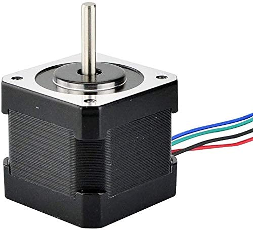 Brand New Durable 3PCS Nema 17 Stepper Motor 40mm 45Ncm(64oz.in) 2A 4-Lead Nema17 Step Motor 1m Cable for DIY 3D Printer CNC Robot 3D Printer Parts
