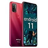 Smartphone Offerta del Giorno,Ulefone Note 11P Android 11 Cellulari Offerte,8GB+128GB con 6.55 Waterdrop Pollici Telefono Cellulare, 48MP+8MP Quattro Camere 4400mAh Dual SIM Cellulare - Rosso