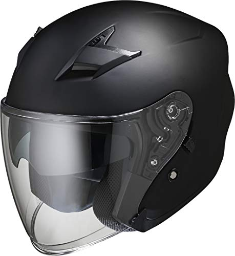 IXS Herren X10053 Motorradhelm, schwarz, M