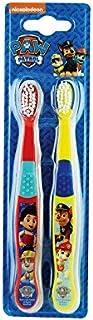 1パックツイン歯ブラシ2 (Paw Patrol) (x 2) - Paw Patrol Twin Toothbrush 2 per pack (Pack of 2) [並行輸入品]