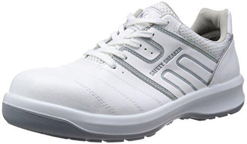 [ミドリ安全] 安全靴 JSAA認定 グリーン購入法適合 プロスニーカー G3590 ホワイト 27.5 cm 3E