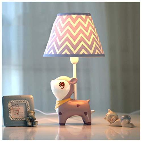 Miss You Lila Fawn LED Tischlampe liegend warm und romantisch Kinderzimmer niedliche Prinzessin Mädchen (Ripple)