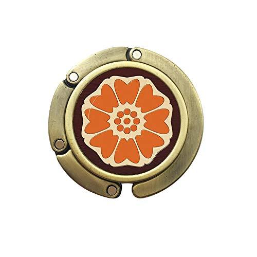 White Lotus Purse Hook,Lotus Flower Purse Hook Lotus Purse Hook Bag Hook Meditation Jewelry,Pai Sho Bag Hook Lotus Ornament Purse Hook,N074