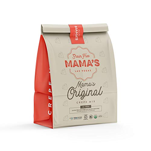 Mama's Original Crepe Mix (USDA Organic, Certified Gluten Free)