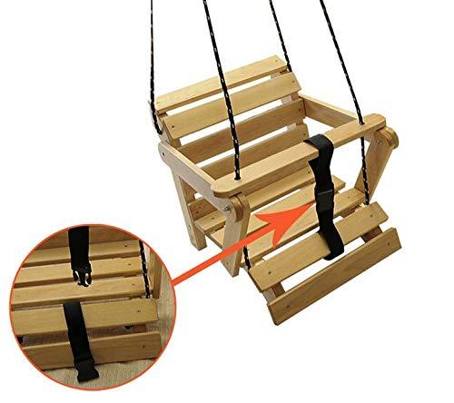 AN-74-K Schaukel Kinderartikel Babyschaukel 5 Möglichkeiten! Kinderschaukel Holzschaukel (Roh ohne Matratze.)